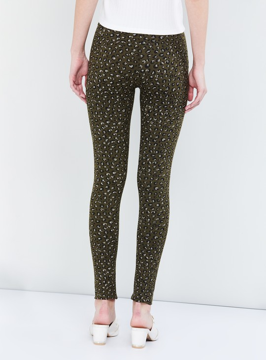 MAX Printed Leggings with Elasticated Waist