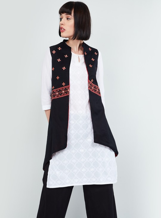 MAX Embroidered Reversible Ethnic Jacket
