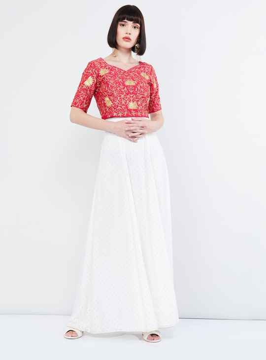 MAX Ethnic Top with Zari Embroidery