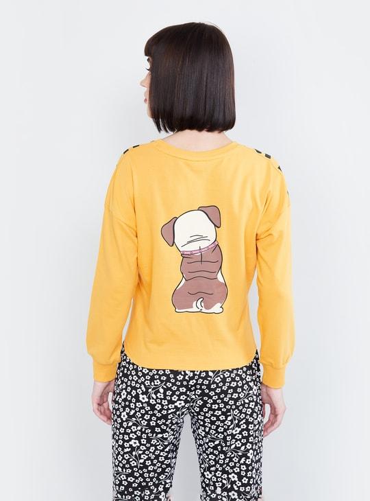 MAX Graphic Printed Full Sleeves Sweatshirt