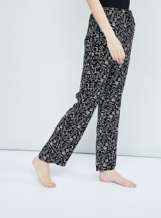 MAX Printed Drawstring Pyjama