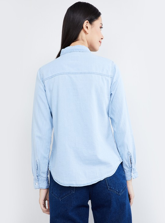 MAX Solid Denim Shirt