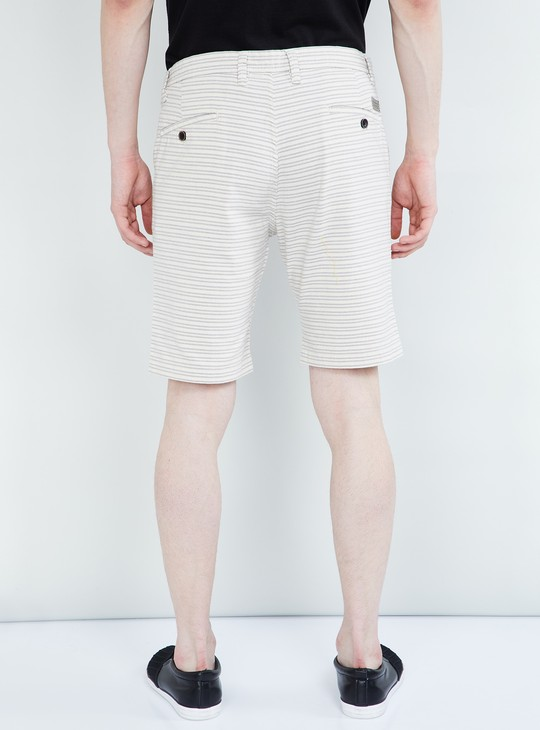 MAX Striped Regular Fit City Shorts