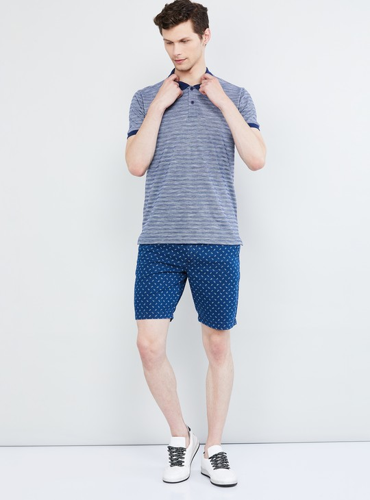MAX Textured Slim Fit Polo T-shirt
