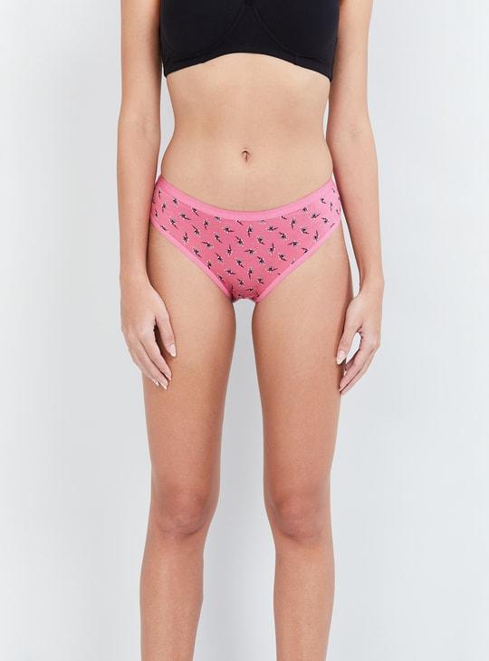 MAX Printed Hipster Panties - Set of 3 Pcs.