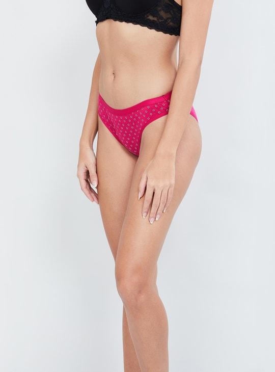 MAX Printed Bikini Panties - Pack of 3 Pcs.