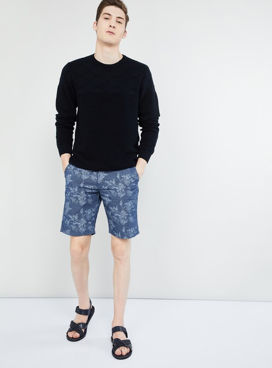 MAX Printed Regular Fit Shorts