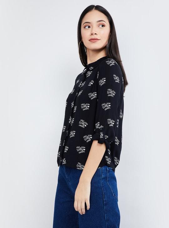 MAX Printed Casual Shirt