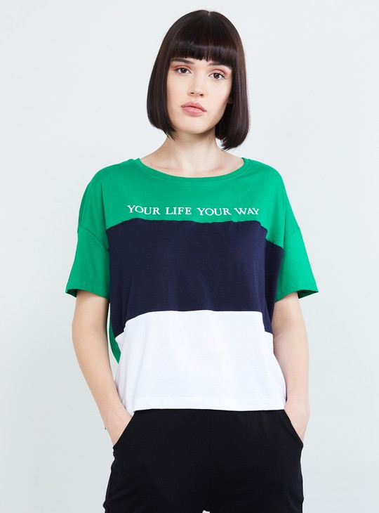 MAX Colourblock Short Sleeves T-shirt