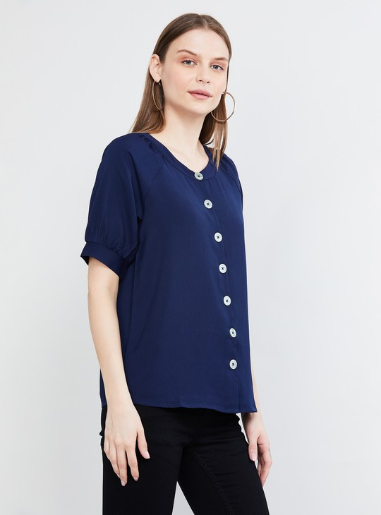 MAX Solid Top with Raglan Sleeves