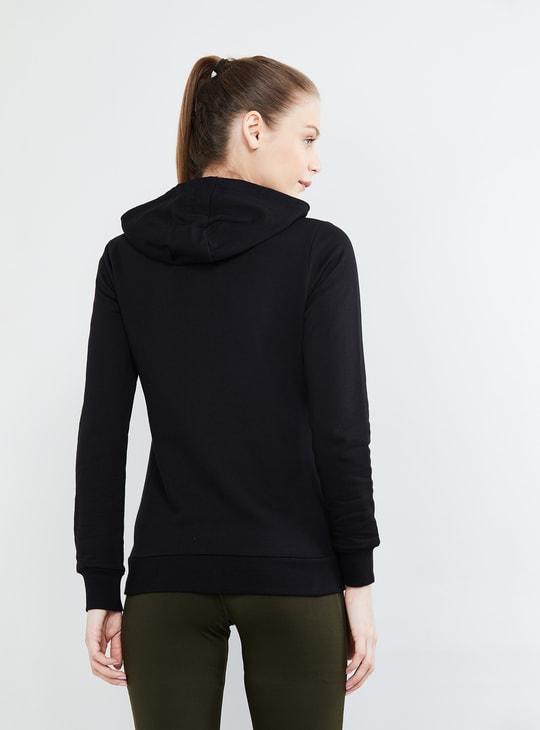 MAX Solid Zip-Through Hoodie
