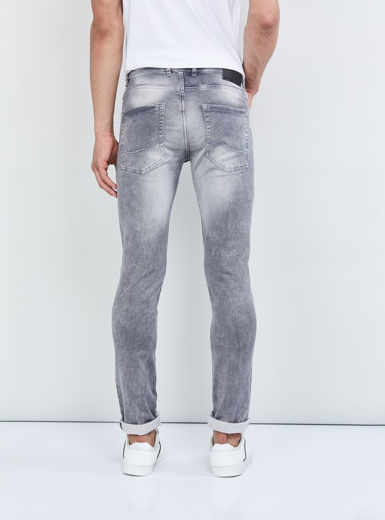 MAX Mid-Washed Slim Fit Jeans