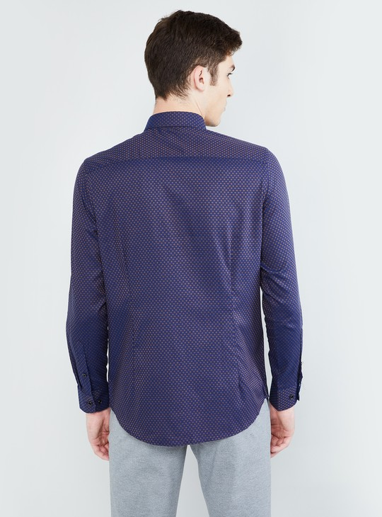 MAX Jacquard Patterned Slim Fit Formal Shirt