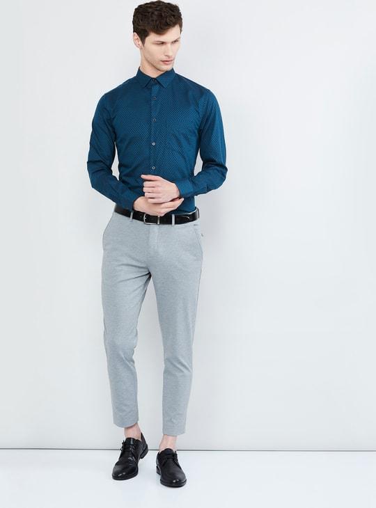 MAX Jacquard Patterned Slim Fit Formal Shirt