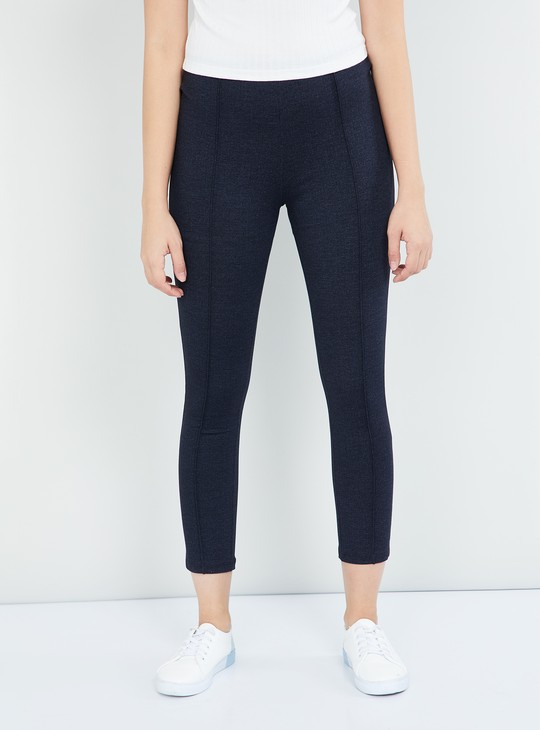 MAX Textured Ankle Length Treggings