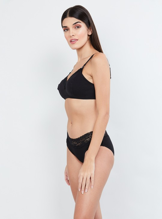 MAX Soft Cup T-shirt Bra with Lace Trim