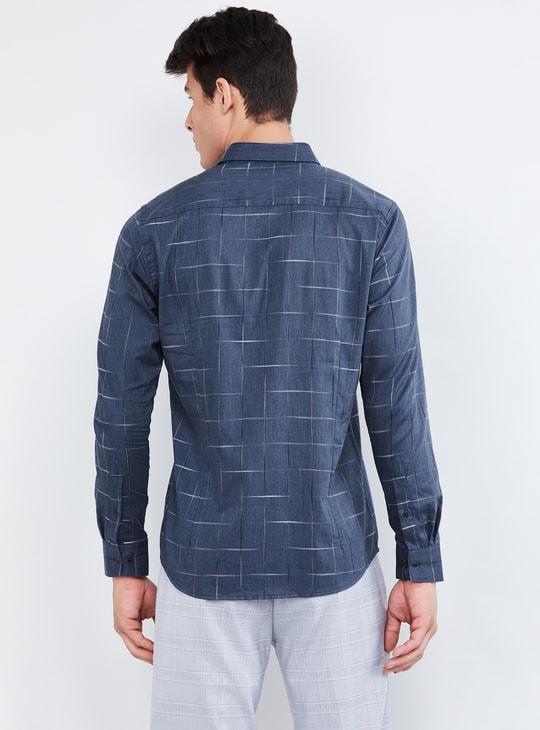 MAX Checked Slim Fit Formal Shirt