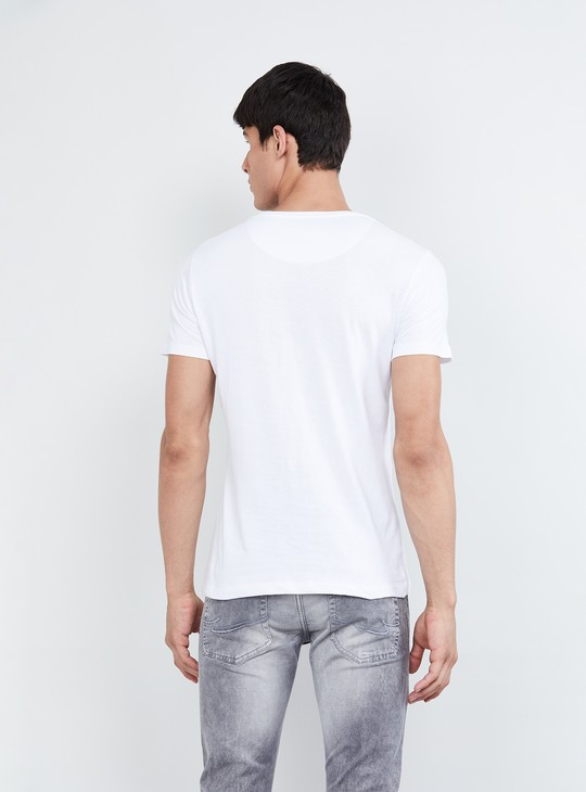 MAX Textured Short Sleeves T-shirt