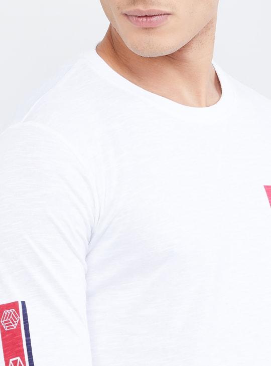 MAX Printed Full Sleeves T-shirt