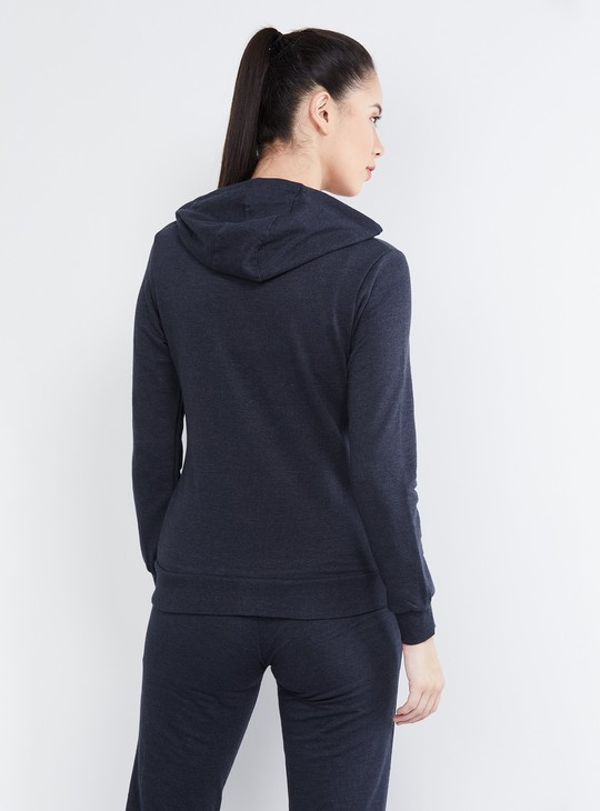 MAX Patch Print Hooded Sweatshirt