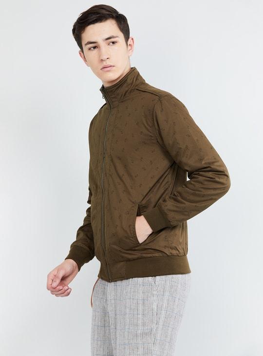 MAX Printed Reversible Zip-Up Jacket