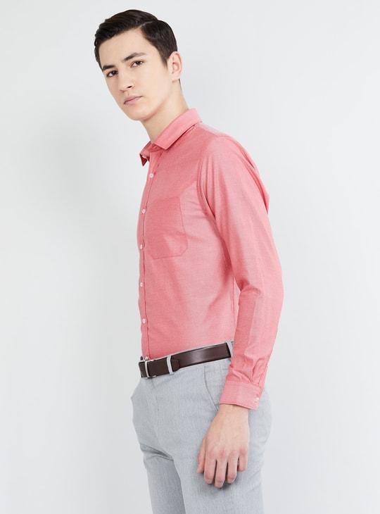 MAX Solid Slim Fit Formal Shirt