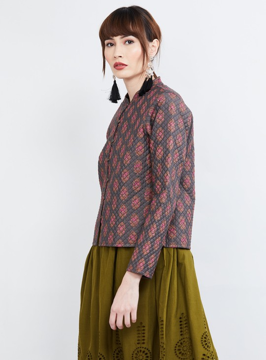 MAX Printed Quilted Jacket