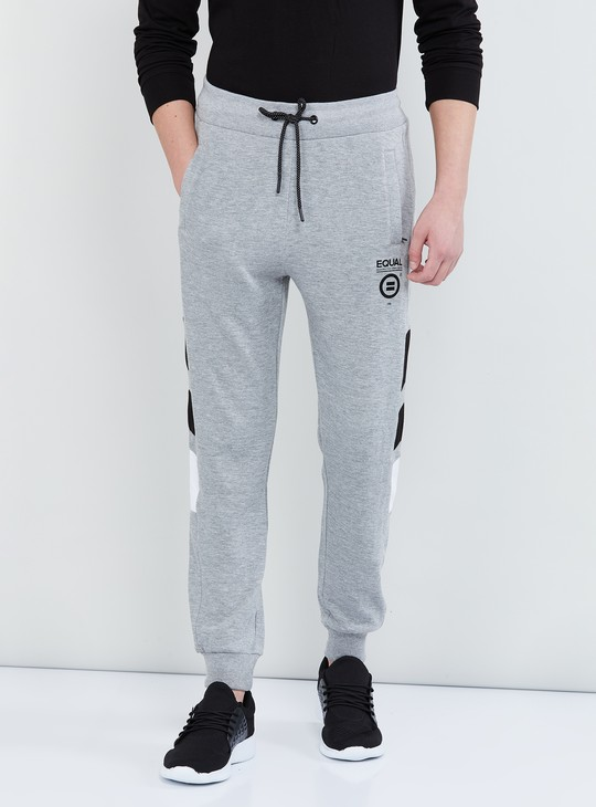 MAX Printed Elasticated Joggers with Drawstring