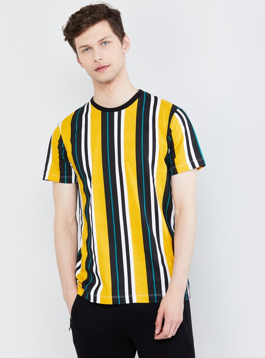 MAX Striped Short Sleeves T-shirt