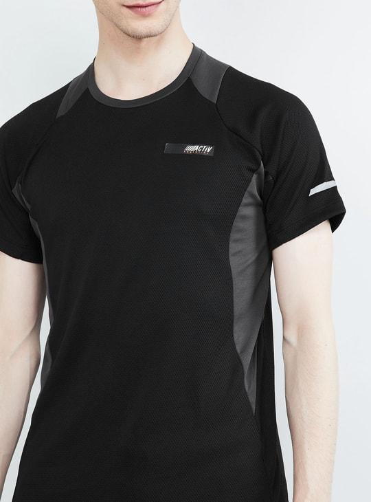 MAX Solid Raglan Sleeves T-shirt