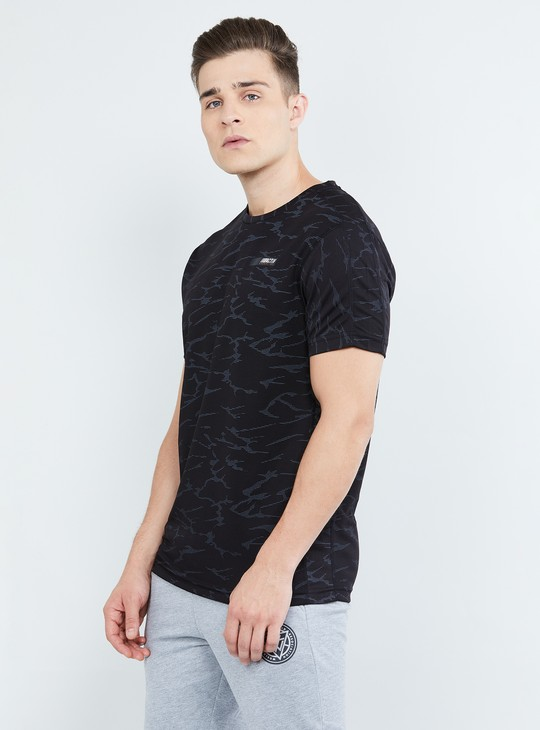 MAX Printed Short Sleeves Crew Neck T-shirt