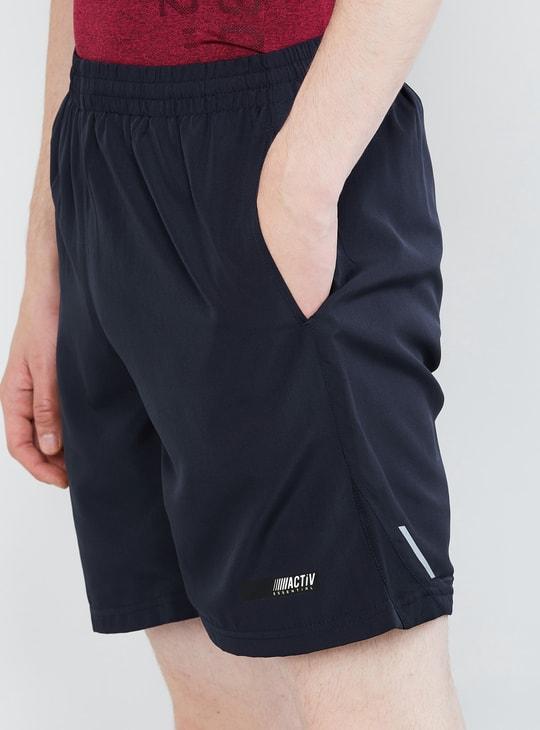 MAX Solid Elasticated Waist Shorts