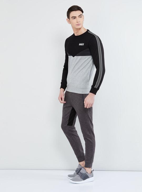 MAX Colourblocked Crew Neck Sweatshirt