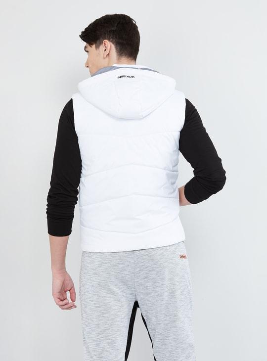 MAX Padded Hooded Gilet Jacket