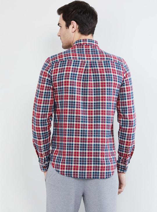 MAX Checked Slim Fit Casual Shirt