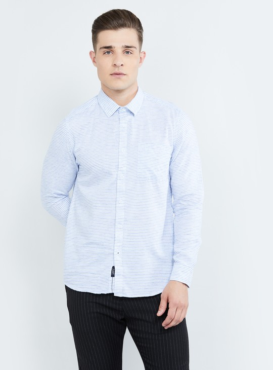 MAX Striped Regular Fit Casual Shirt