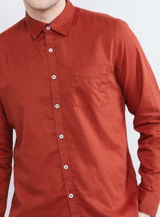 MAX Solid Regular Fit Casual Shirt