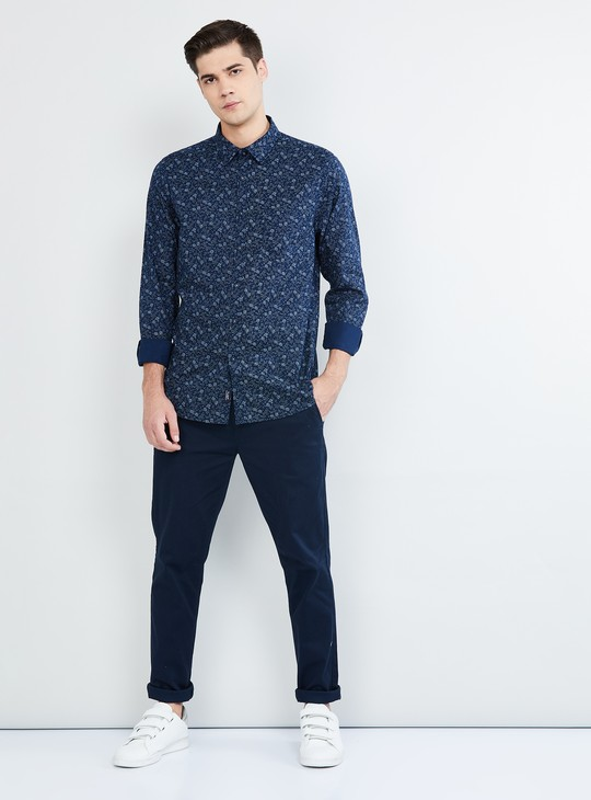 MAX Printed Full Sleeves Casual Shirt