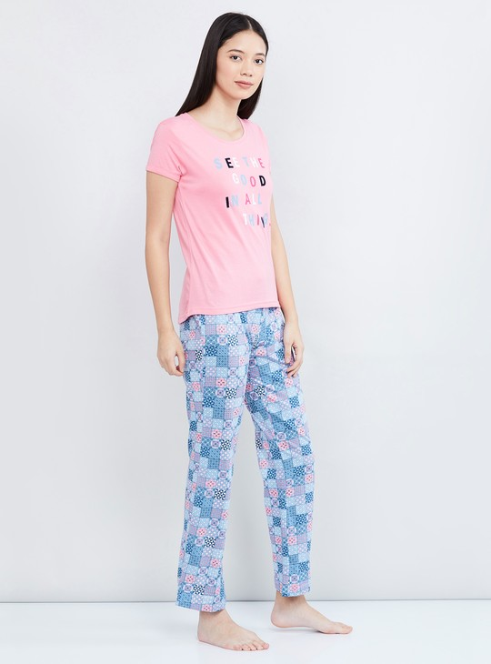 MAX Printed T-shirt and Pant