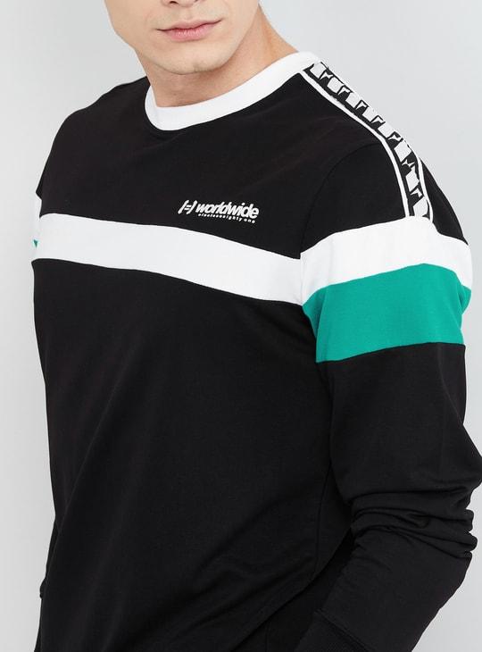 MAX Colouirblock Long Sleeves sweatshirt