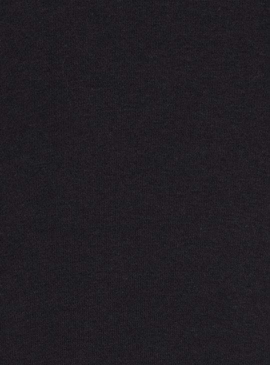 MAX Printed Cowl Neck Sweatshirt