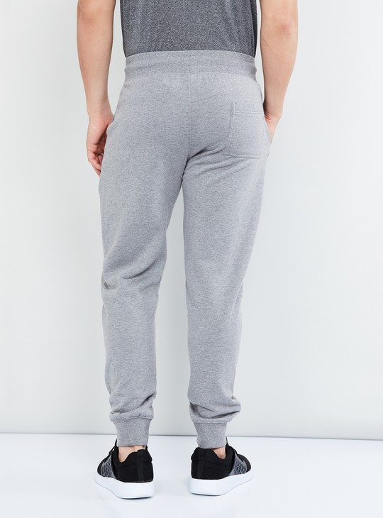 MAX Melange Knitted Drawstring Waist Joggers
