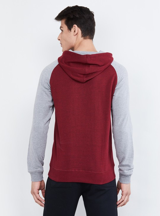 MAX Textured Hooded Sweatshirt