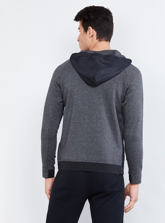 MAX Colourblocked Hooded Sweatshirt