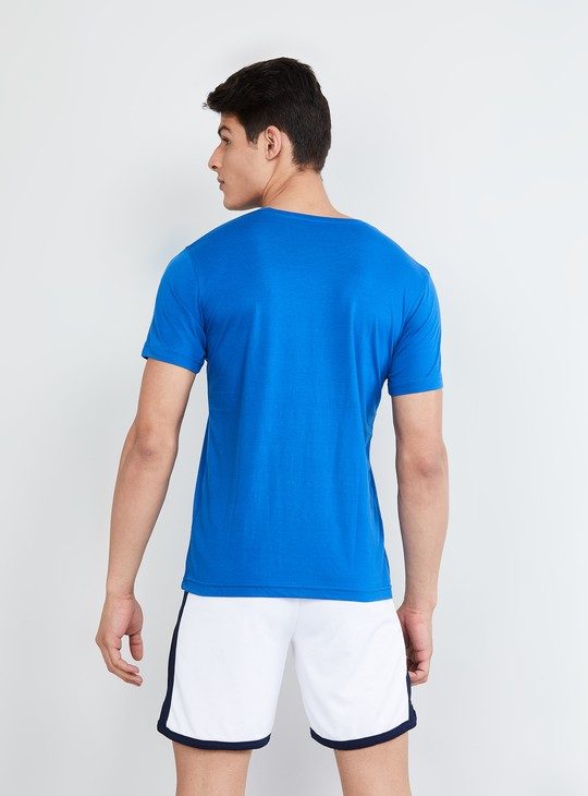 MAX Solid Short Sleeves Crew Neck T-shirt