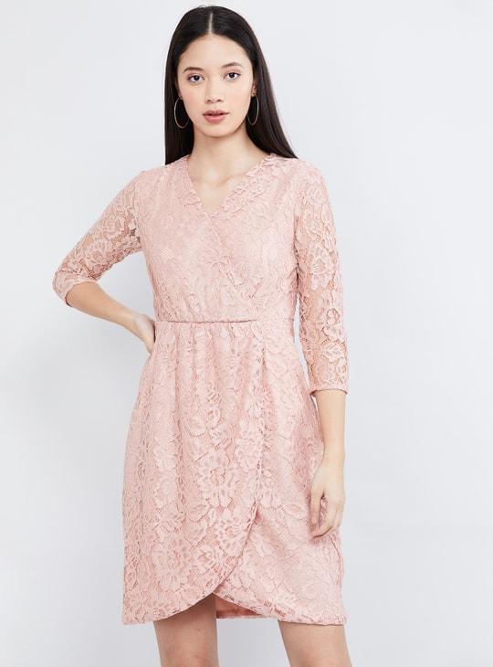 MAX Lace Tulip Dress