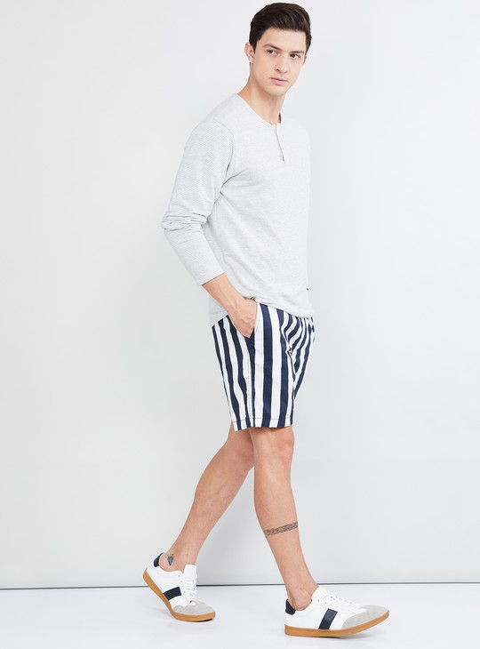 MAX Striped Elasticated Shorts