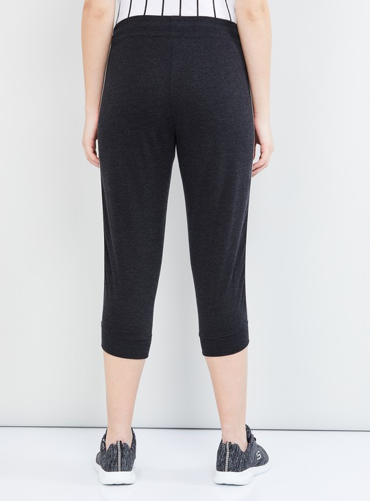 MAX Heathered Cropped Capris