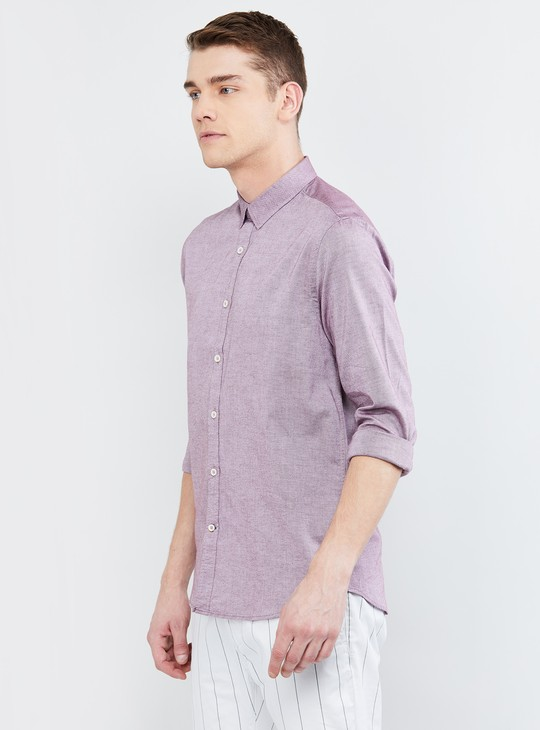 MAX Textured Smart Fit Casual Shirt