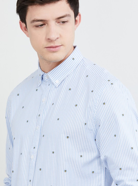 MAX Striped Regular Fit Casual Shirt